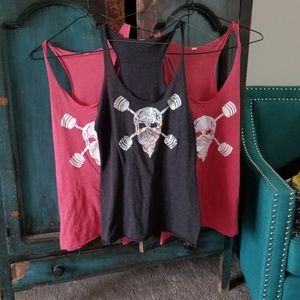 Tops - Workout tanks bundle of 3..one size